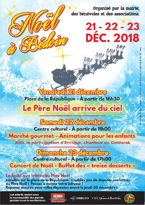 Noël à bédoin 2018