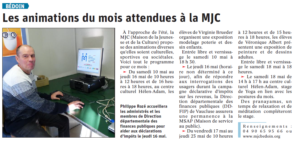 article-vaucluse-matin-mjc-bedoin-05-05-2019.PNG